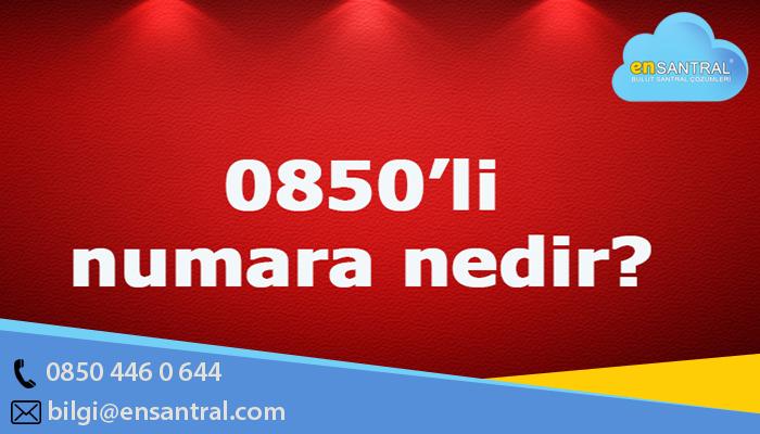 0850 Numara Nereye Ait
